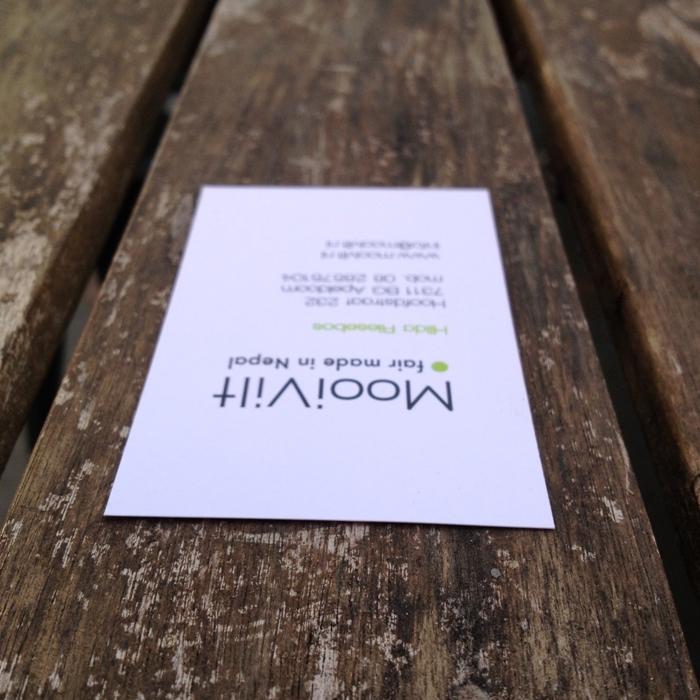 visitekaartje by riedesign . grafische vormgeving