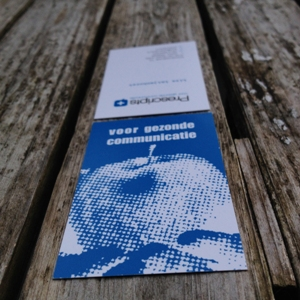 visitekaartje prescript